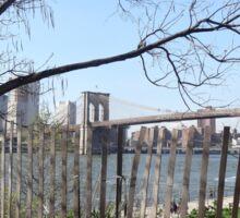 brooklyn Bridge Park Sticker