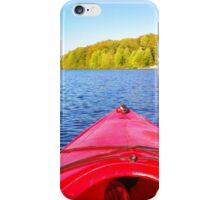 Canoeing iPhone Case/Skin