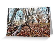 Rest On The Hill Top Greeting Card