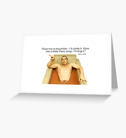 Louis Litt funny quote from Suits Greeting Card