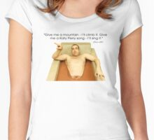 Louis Litt funny quote from Suits Women's Fitted Scoop T-Shirt