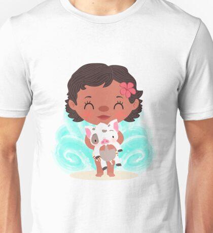 Baby Moana and Pua Unisex T-Shirt
