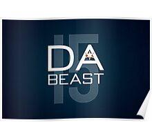 Da Beast Poster