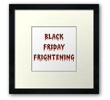 Black Friday Framed Print