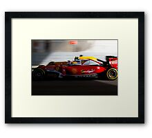 Ferrari formula 1 Framed Print