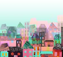 Paper town by ingridcastile