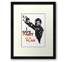 GOTG - Star Lord, Quote 1 Framed Print