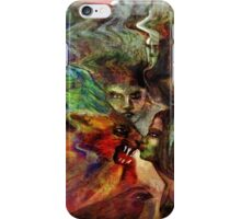 Kissing the Beast iPhone Case/Skin