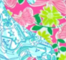 Lilly Pulitzer Yin Yang Sticker