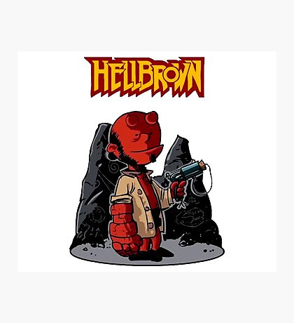 HellBrown Photographic Print