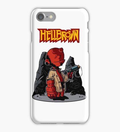 HellBrown iPhone Case/Skin
