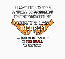 Fermat's Last T-Shirt Unisex T-Shirt