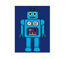 I AM ROBOT Art Print