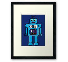 I AM ROBOT Framed Print