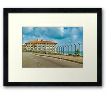 Waterfront Elegant Hotel Natal Brazil Framed Print