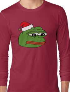 Christmas Pepe Long Sleeve T-Shirt