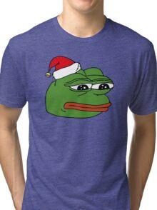 Christmas Pepe Tri-blend T-Shirt