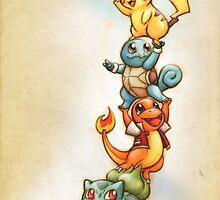 Pokemon Red by Jak-O-Lope