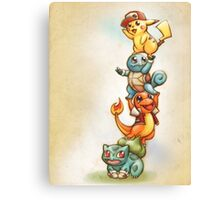 Pokemon Red Canvas Print
