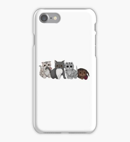 A Gang of Kittens iPhone Case/Skin