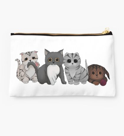 A Gang of Kittens Studio Pouch