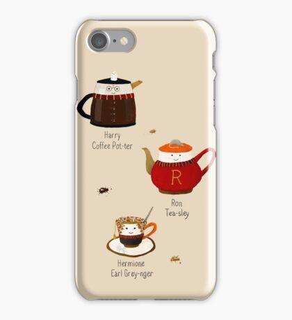 The Golden Tea-o iPhone Case/Skin