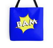' BAM 'Comic book style Tote Bag