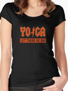 Yoga - Rock'n Roll Women's Fitted Scoop T-Shirt