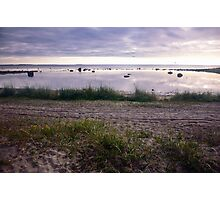 Evening on a Northern Sea Photographic Print