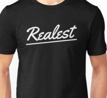 Realest - White Unisex T-Shirt