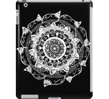 White & Black iPad Case/Skin