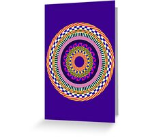 Funky Mandala Greeting Card