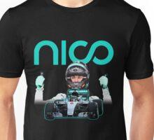 Go Nico formula 1 champion F1 Unisex T-Shirt