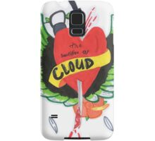 Heart Stabbed - Final Fantasy VII The Sacrifice Of Cloud - Name Banner 'CLOUD' Samsung Galaxy Case/Skin