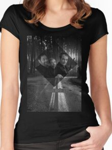 Supernatural - Crowley Women's Fitted Scoop T-Shirt