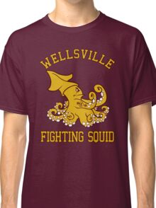 Wellsville Fighting Squid (Pete and Pete/Notre Dame parody) Classic T-Shirt