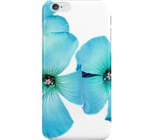 TURQUOISE FLOWER POWER  iPhone Case/Skin