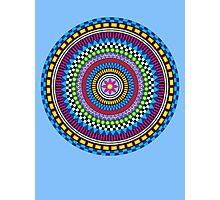 Geometric Mandala Photographic Print