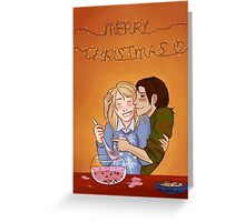 Yumikuri's Christmas Punch Greeting Card