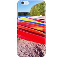 Canoes iPhone Case/Skin