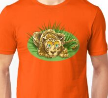 Cheetah with Green Eyes Unisex T-Shirt