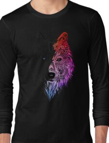 WOLF MANDALA Long Sleeve T-Shirt
