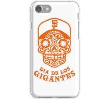 Dia De Los Gigantes San Francisco Giants iPhone Case/Skin