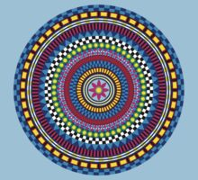 Geometric Mandala Kids Clothes