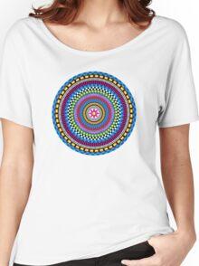 Geometric Mandala Women's Relaxed Fit T-Shirt