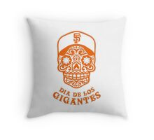 Dia De Los Gigantes San Francisco Giants Throw Pillow