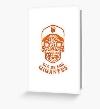 Dia De Los Gigantes San Francisco Giants Greeting Card