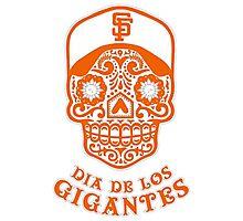 Dia De Los Gigantes San Francisco Giants Photographic Print