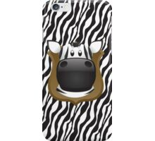 Zoo animals wildlife - Zebra iPhone Case/Skin
