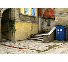 Tardis-Mediterranean-02 Photographic Print
